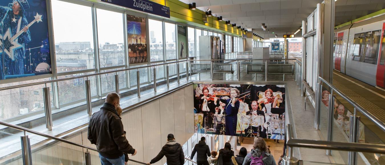Metrohalte Zuidplein
