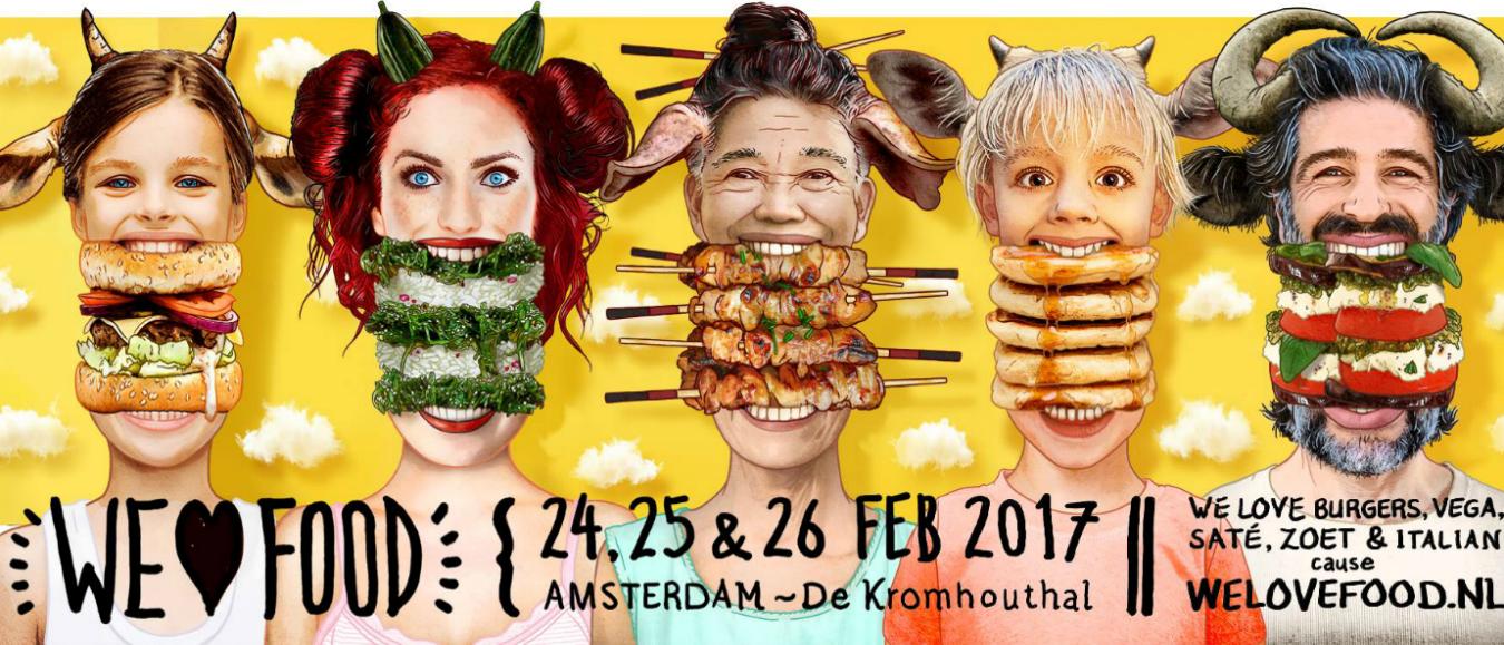 Amsterdams foodwalhalla in de Kromhouthal