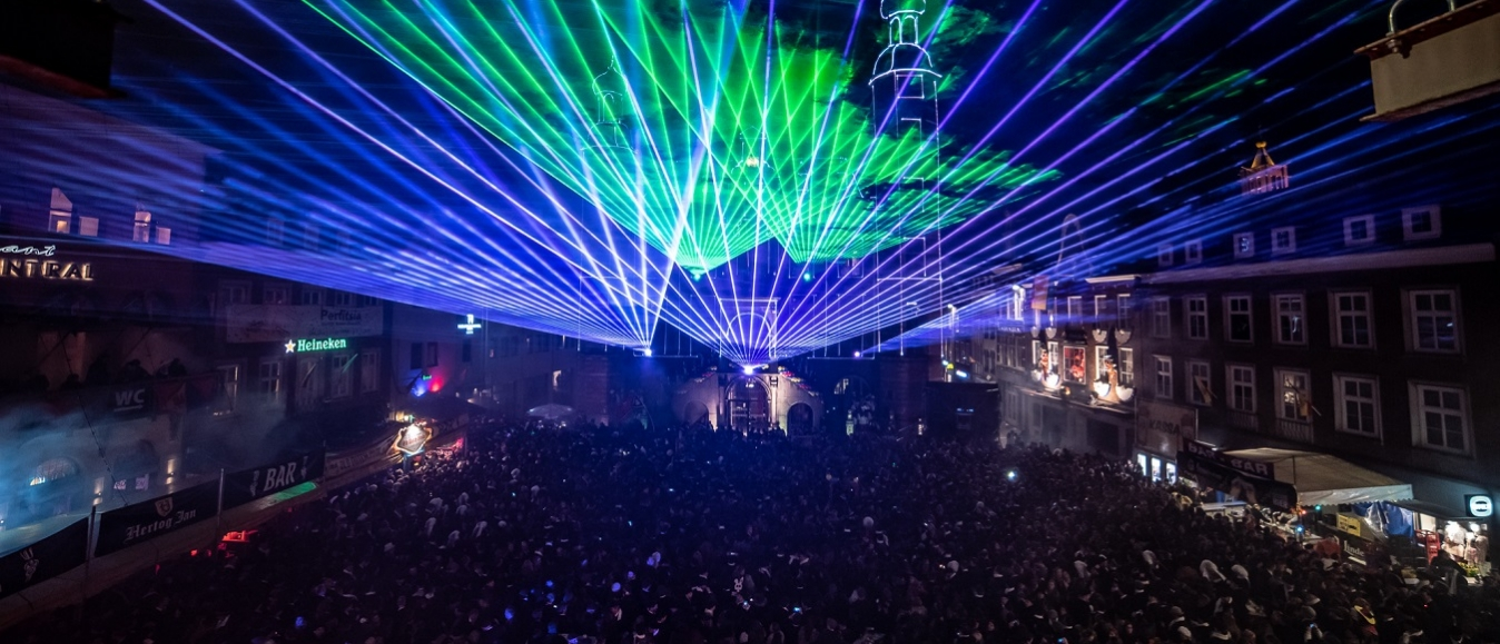Venlo viert bijzonder jubileum met lasershow