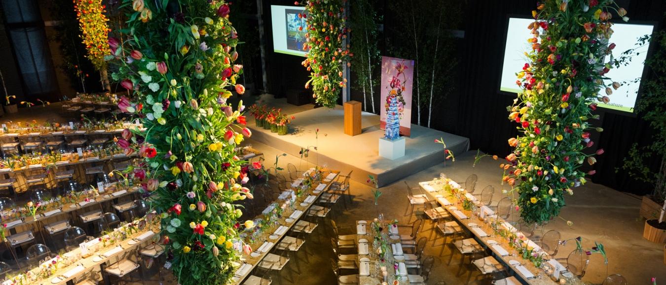 'Aan tafel met Micky Hoogendijk' op Domein Oogenlust