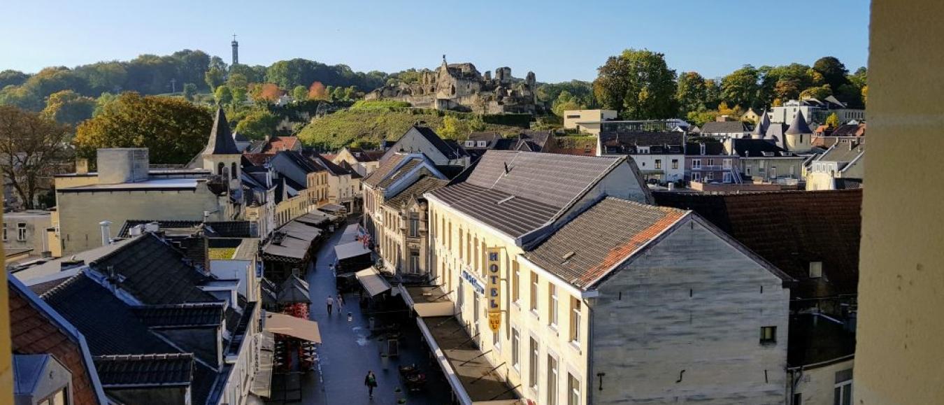 Saamhorigheid bij getroffen ondernemers in Valkenburg