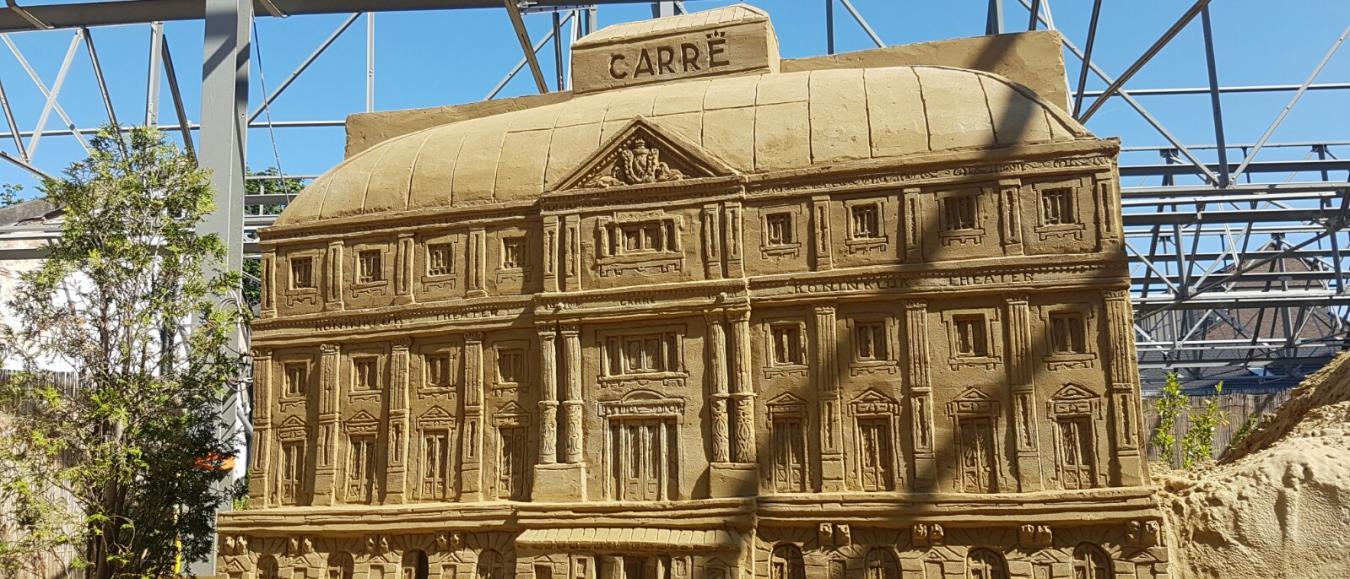 Zandsculpturen Festival twee weken langer te bezoeken