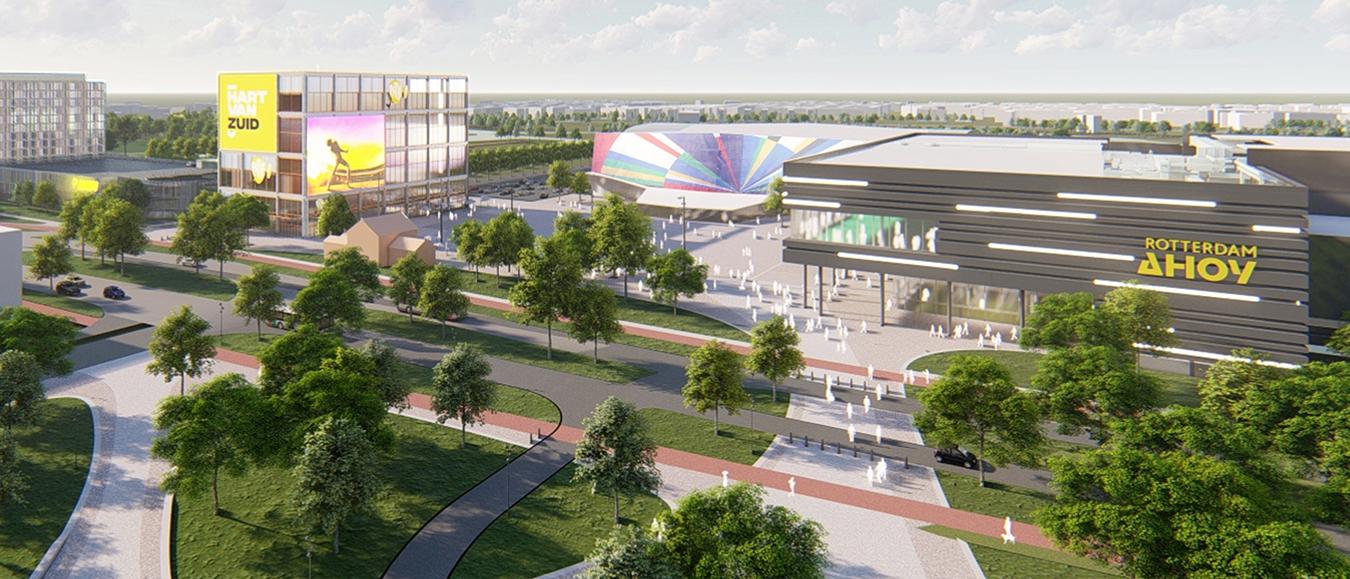 Nieuwe fase Hart van Zuid: definitieve komst Pathé bioscoop en parkeergarage
