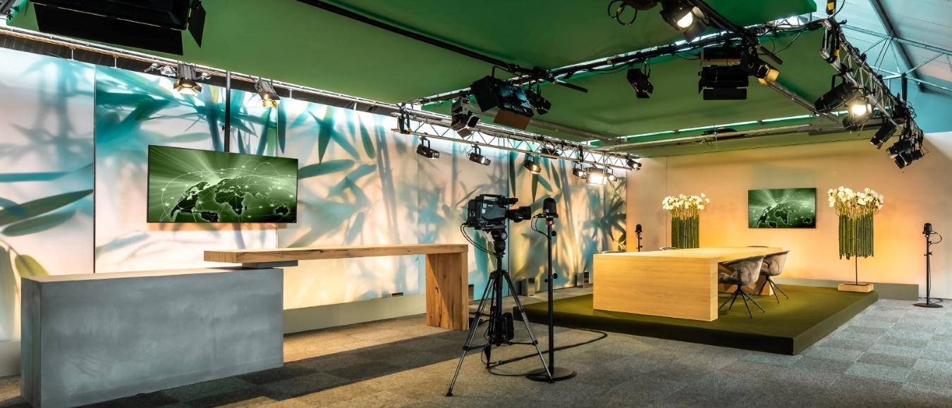 Unieke hybride studio van Van der Maarel Eventstyling