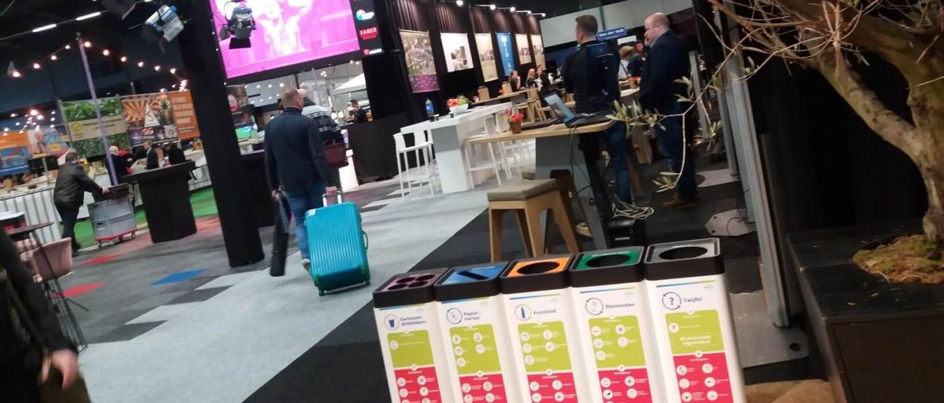 Empack Nederland wil in 2022 volledig afvalvrije beurs zijn