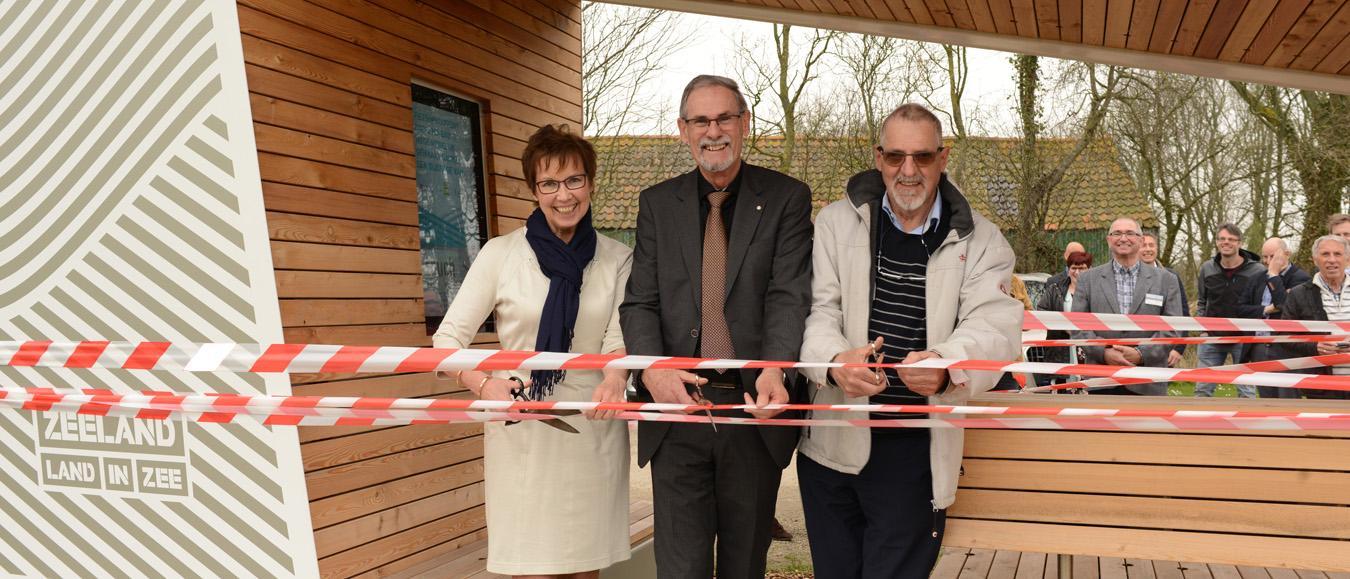 Eerste FietsOpstappunt Zeeland geopend