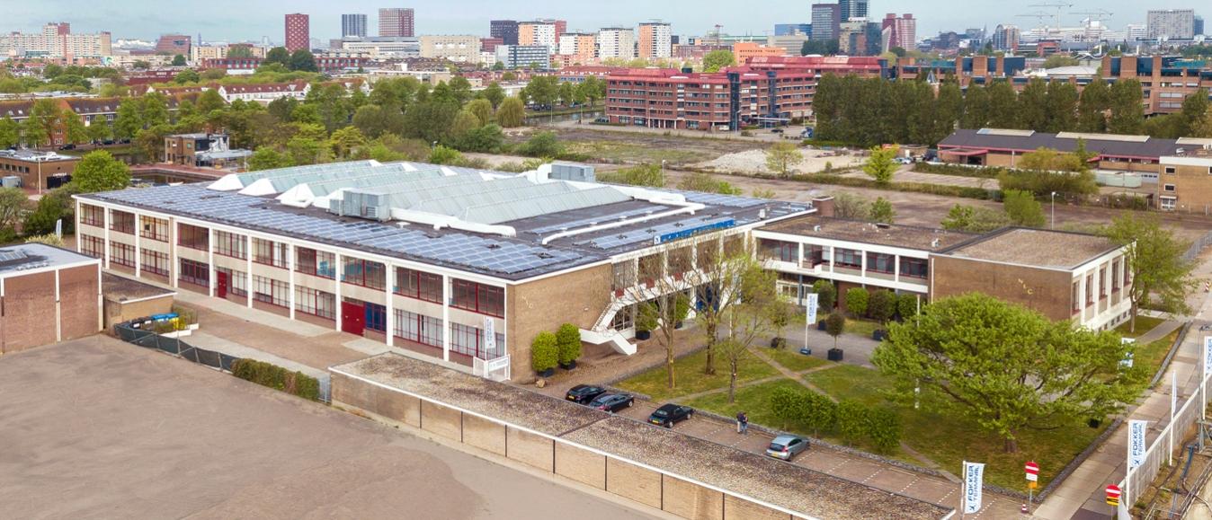 De Fokker Terminal, voor een energie-, CO2- en afvalneutraal evenement