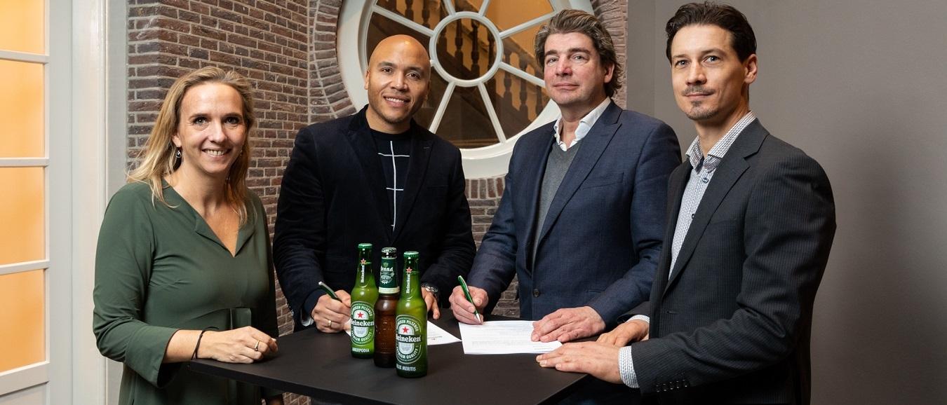 Amerpodia kiest Heineken als horecapartner