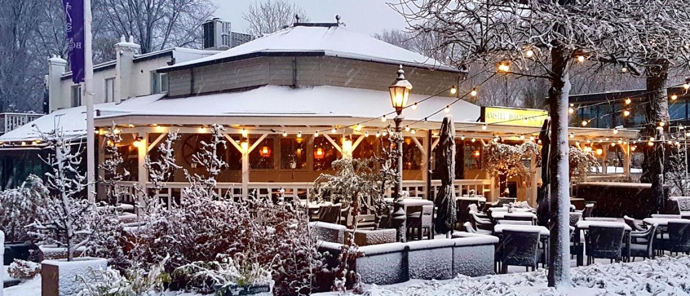 Amstel Boathouse maakt koude wintermaanden 'heet'