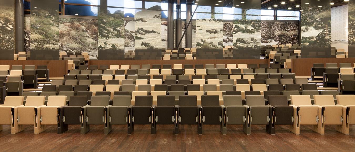 Safari Meeting Centre midden in Burgers' Zoo