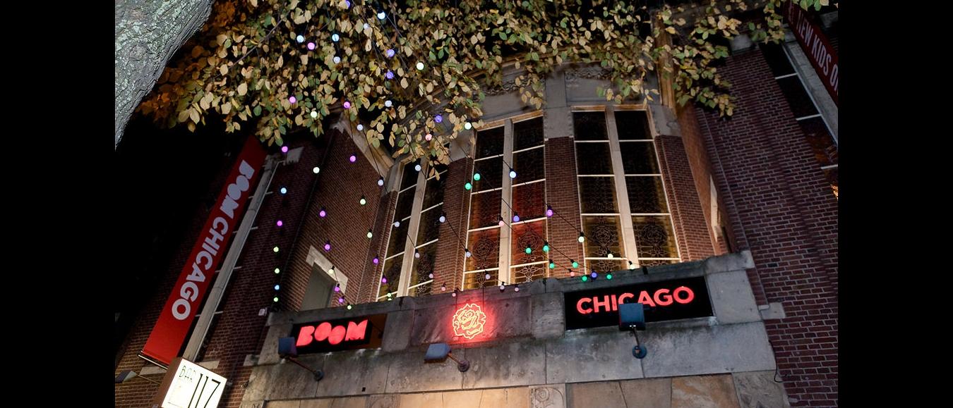Boom Chicago's theater in de Jordaan