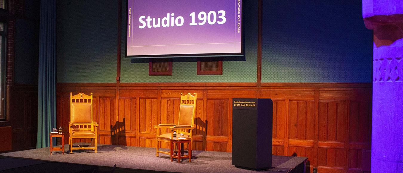Beurs van Berlage lanceert Studio 1903