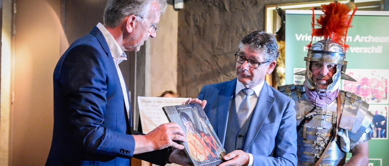 Boekpresentatie ter ere van jubilerend Archeon