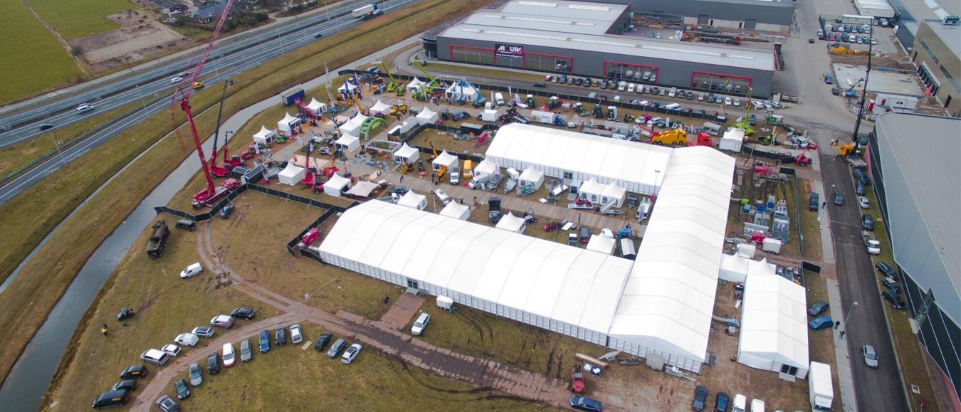 Donselaar Tenten verzorgt tenten voor Bouw & Agri Vakdagen