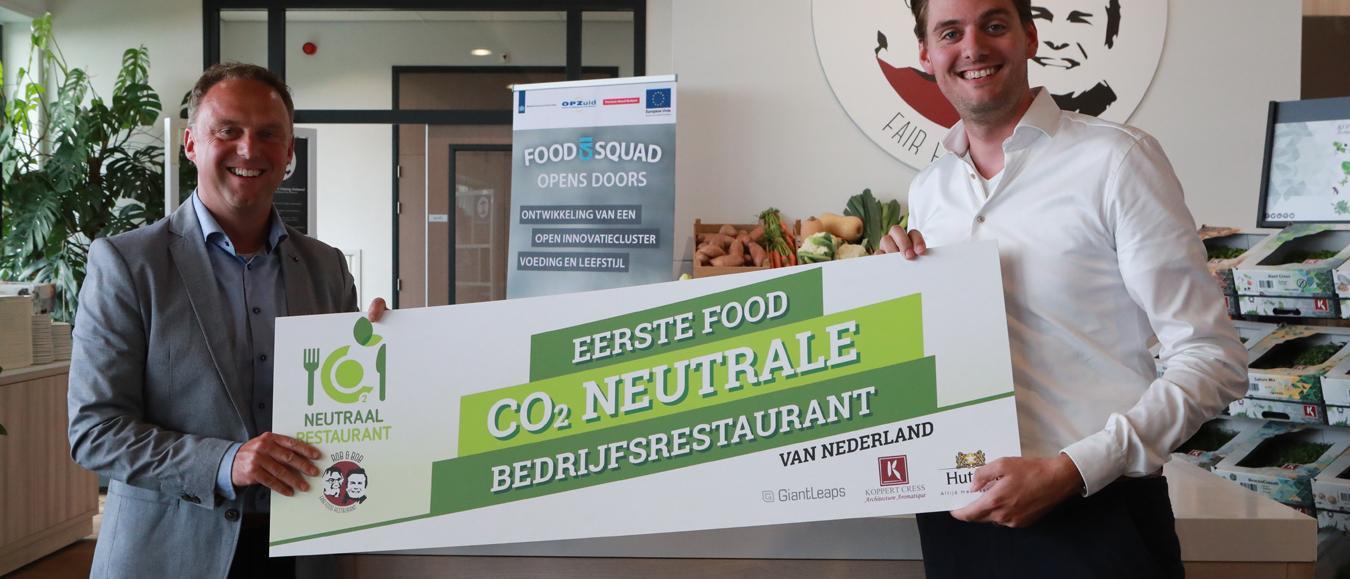 Koppert Cress en Hutten onderzoeken CO2-uitstoot restaurant
