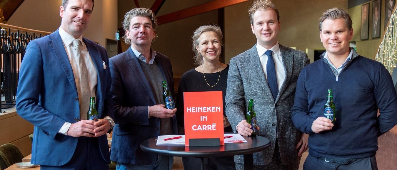 Koninklijk Theater Carré en Heineken verlengen contract