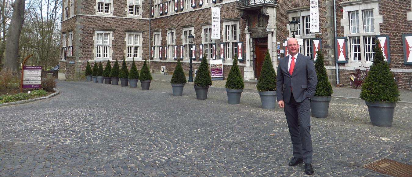 Chretien Ploum nieuwe hotelmanager Abdij Rolduc