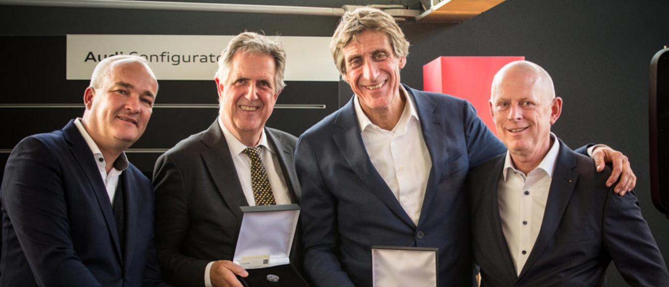 Blijvende innovatie Rick en Leo Claus beloond met award