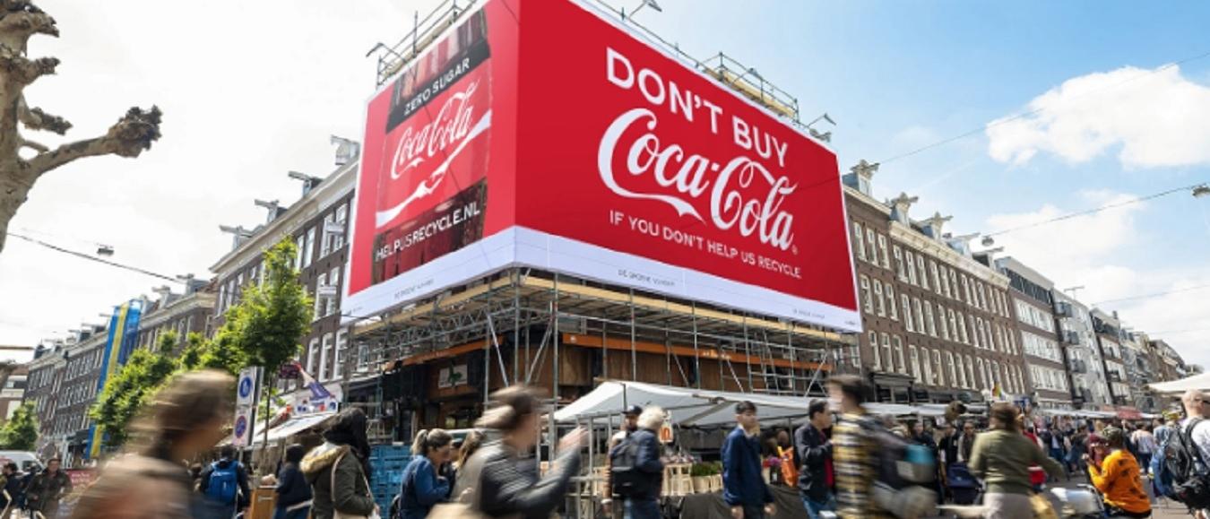 Grootste campagne Coca-Cola in teken van recycling
