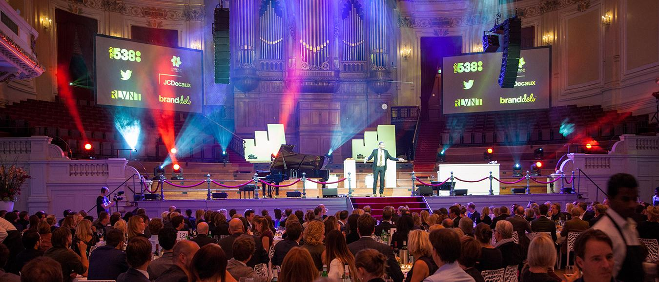 Marketingtoppers ontmoeten elkaar in prestigieus Concertgebouw