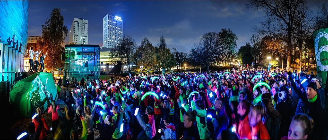 CrowdLED creeërt lichtkunst in Rotterdam