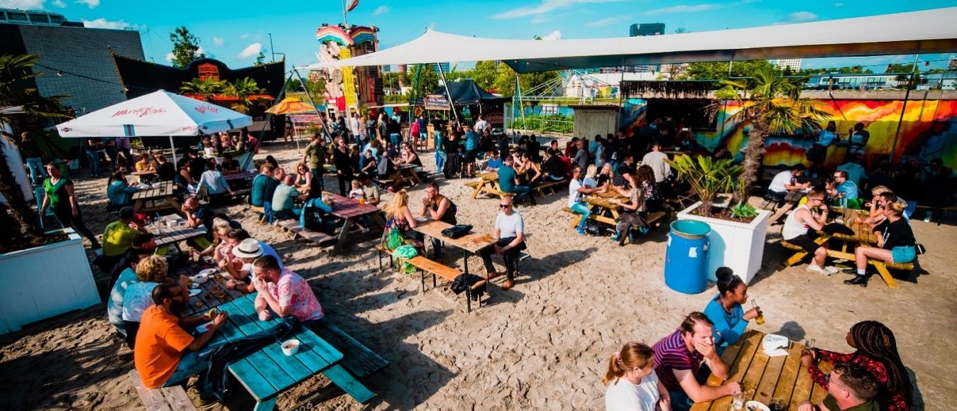 Meer mogelijkheden voor events stadsstrand DOK Amsterdam