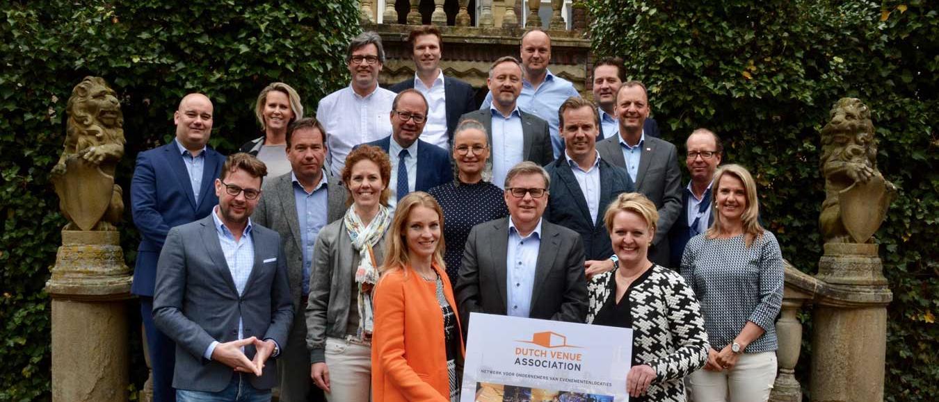 Evenementlocaties verenigd in Dutch Venue Association