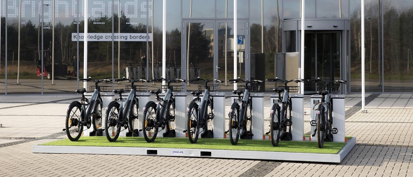 Engelen Events lanceert duurzame E-bike deelplateau's