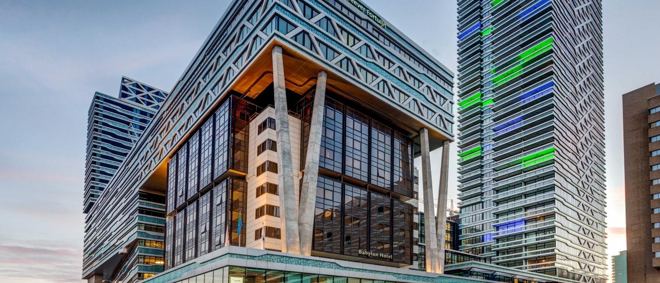 Landmark: New Babylon building
