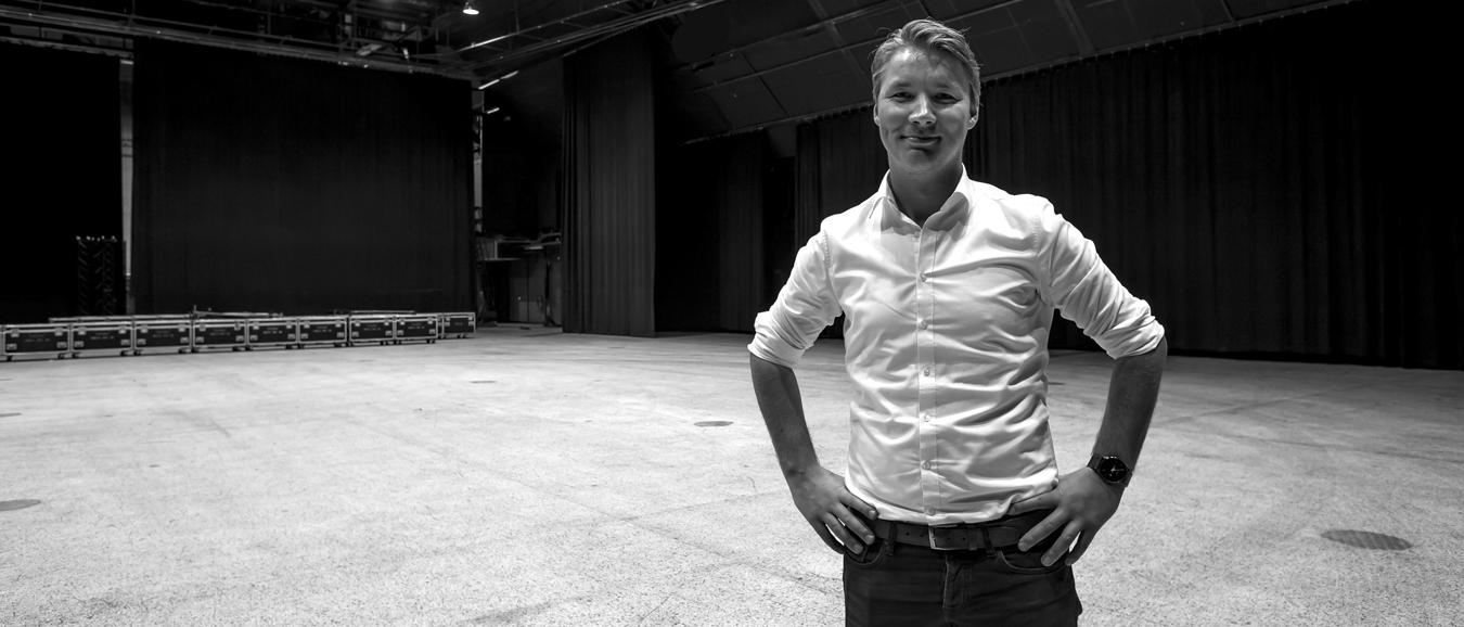 Ernst-Jan Beck: 'Hybride evenementen zijn de toekomst'