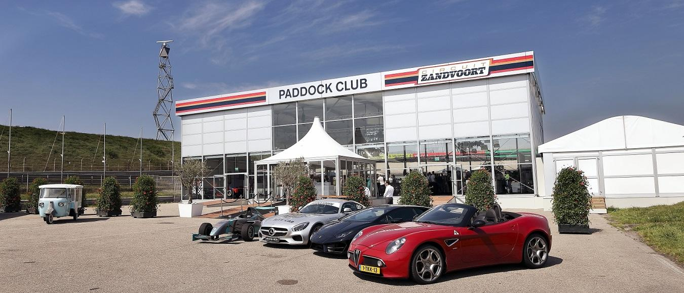 Paddock Club Circuit Zandvoort hele jaar geopend