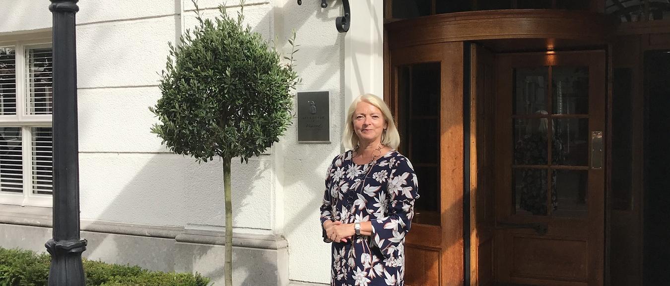 Ellen de Boer General Manager van Hotel Carlton Ambassador