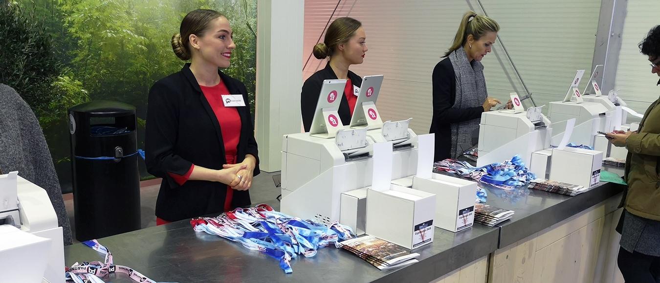 Flexibel en gepersonaliseerd kleurenbadges met ExpoBadge