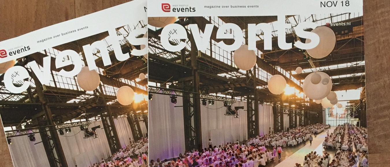 Het magazine Events is uit!