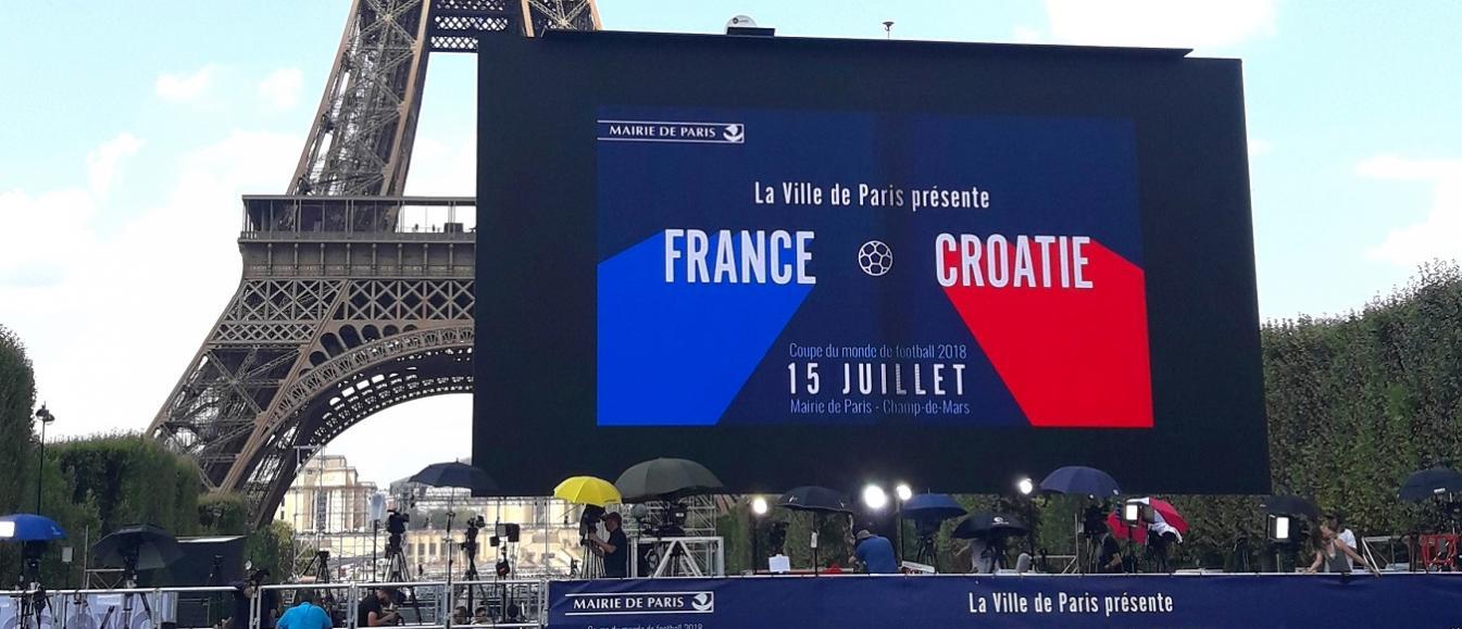 Grootste mobiele scherm ter wereld op Festivak