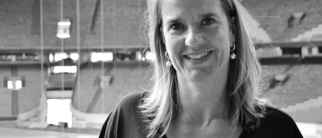 Hilda Hofkamp: 'Dromen van de grootste dinertafel op het veld van de ArenA'