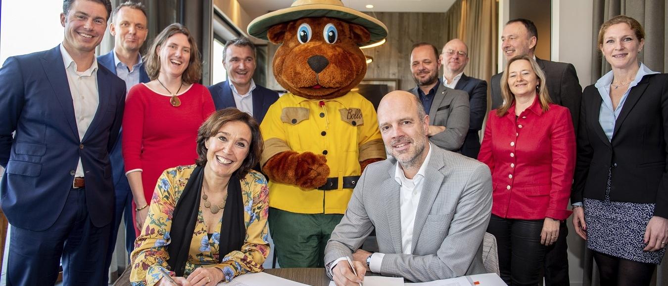 CSU en Landal GreenParks breiden samenwerking uit