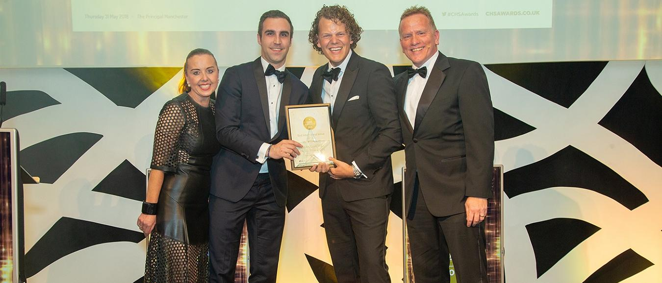 Grand Hotel Huis ter Duin wint Best International Venue Award
