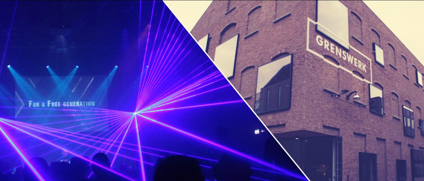 Poppodium Grenswerk en Laserforum slaan handen ineen