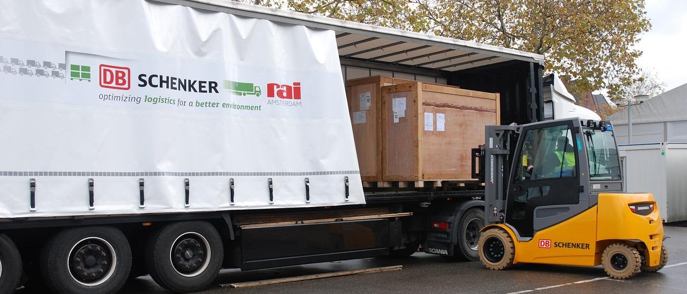 Logistieke pilot verlaagt verkeersdruk rondom RAI
