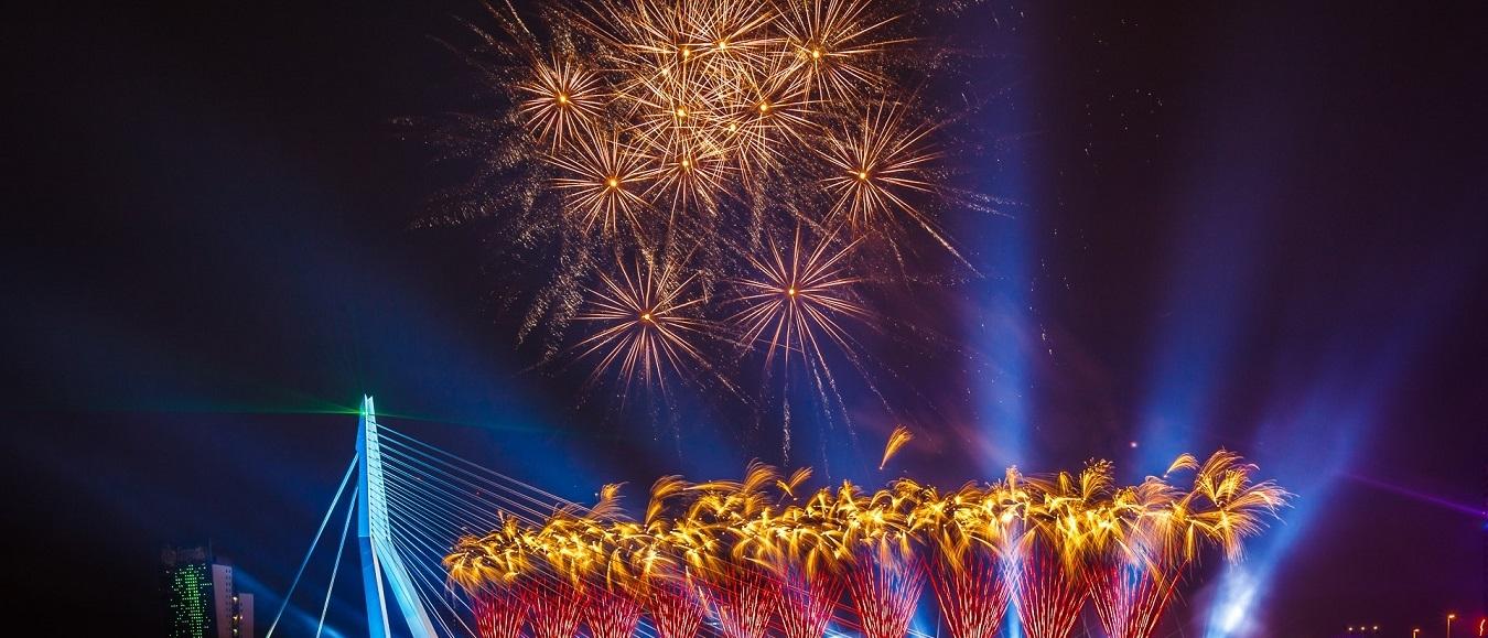 Unieke samenwerking Rotterdams Philharmonisch Orkest en het Nationale Vuurwerk
