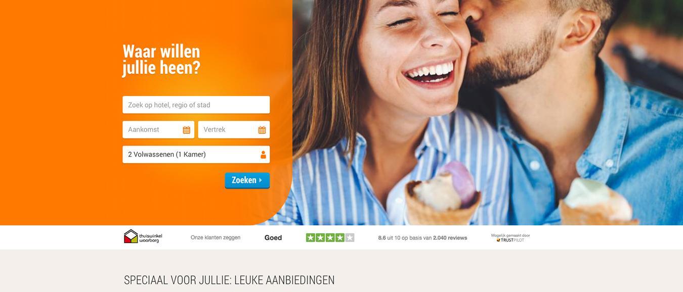 HotelSpecials ontwikkelt nieuwe responsive website
