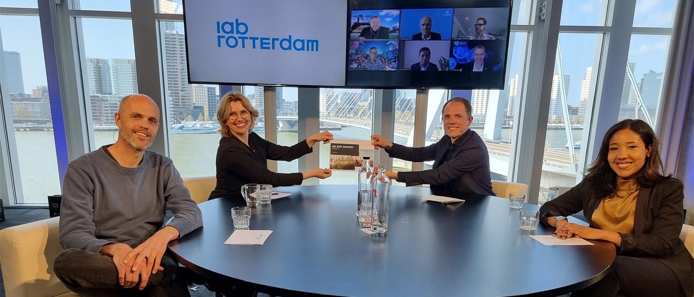 Slotadvies IAB MICE-industrie overhandigd aan stadsbestuur van Rotterdam