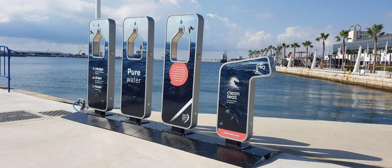 MTD levert drinkwater fonteinen voor de Volvo Ocean Race