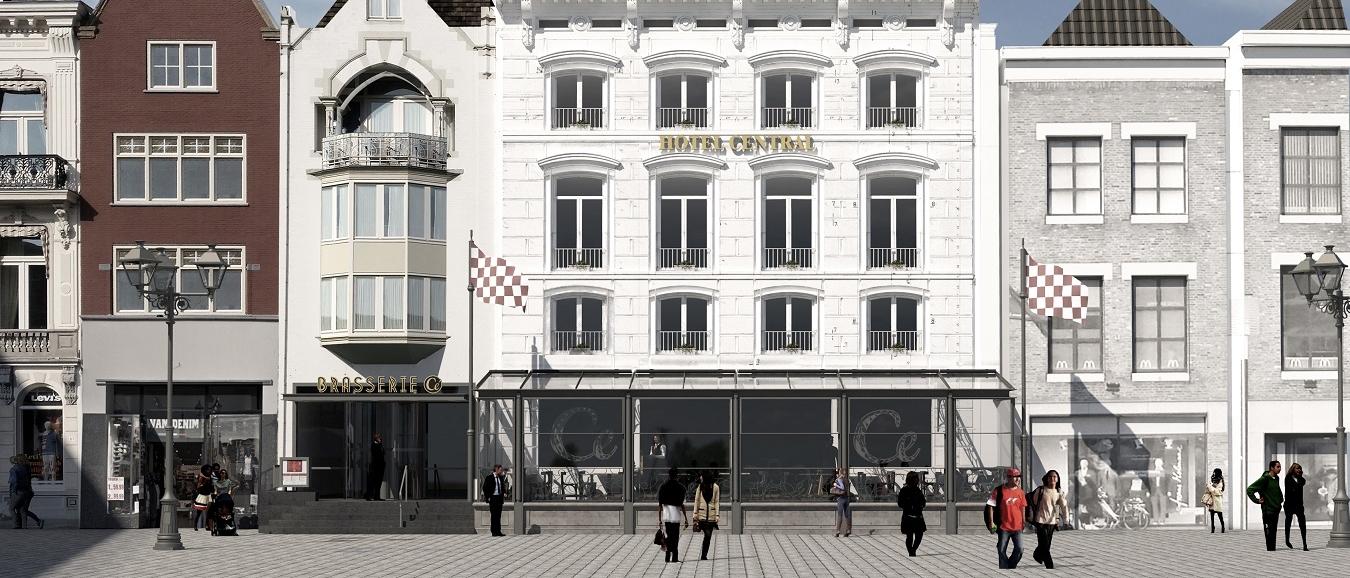 Nieuwe serre voor Golden Tulip Hotel Central