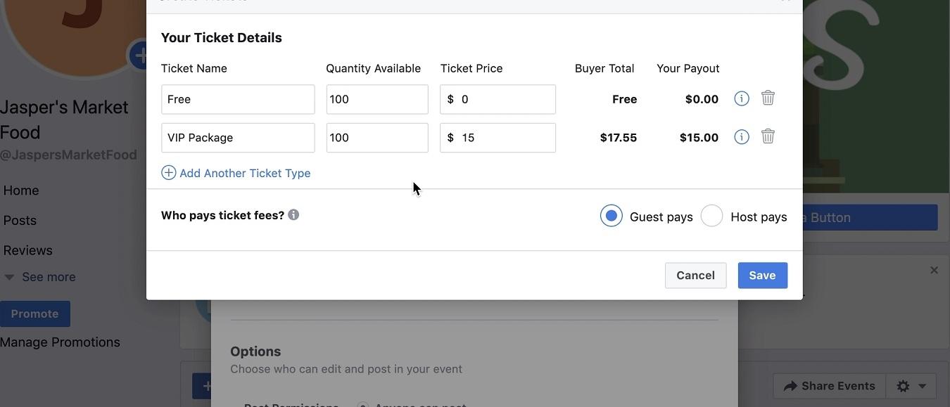 Eventbrite maakt verkoop tickets via Facebook makkelijker
