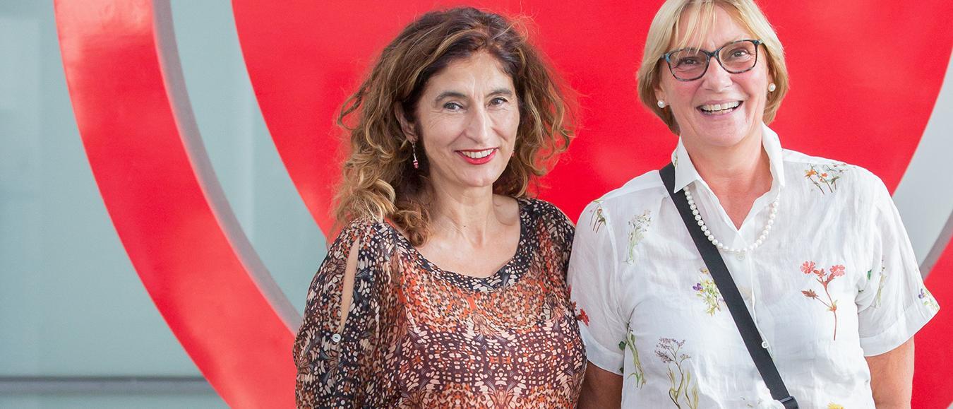 Jessica Ylstra - ACS en Isabel Bardinet - ESC
