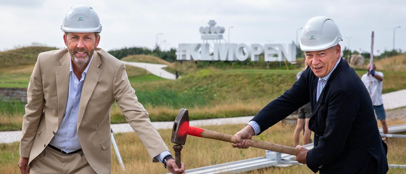 Opbouw 100ste editie KLM Open begonnen