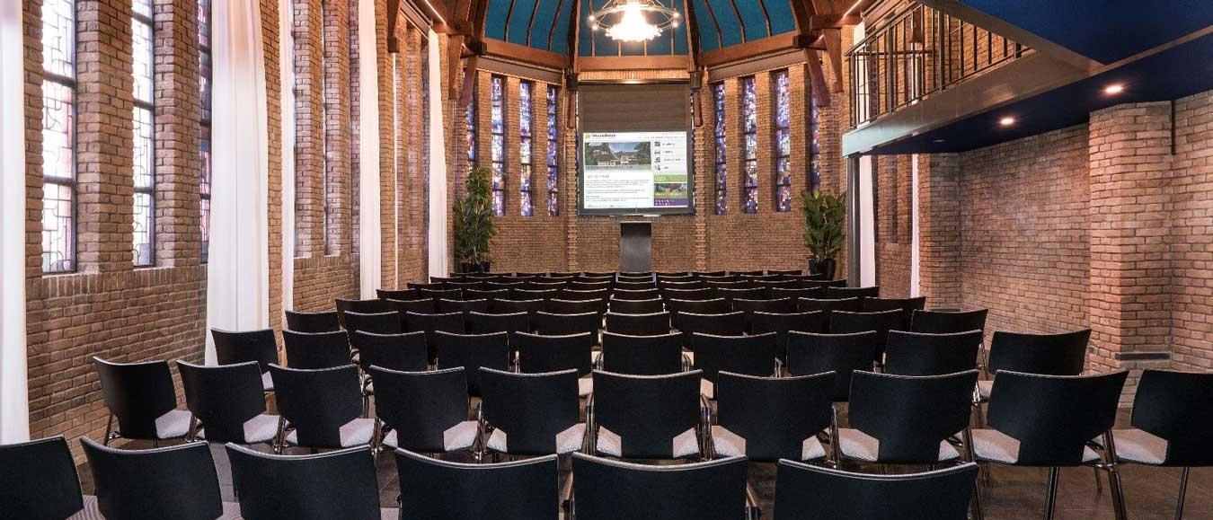Kapel van Woudschoten Hotel en Conferentiecentrum in oude glorie hersteld