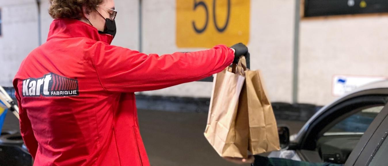 Kartfabrique Drive-thru: over het circuit naar je fast food-bestelling